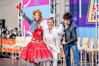 <p>Savannah just wanted to have fun and she most certainly did as '80s icon Cyndi Lauper. Meanwhile, Hoda went crazy with the rhinestones for her all-white Elton John costume. Last but not least, there's Carson Daly, who paid tribute to the one and only Bruce Springsteen. </p>