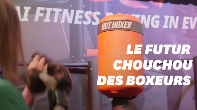 CES 2019: Botboxer, le robot punching ball, évite vos coups