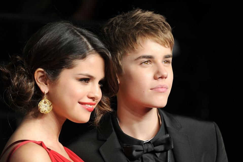 Justin Bieber dated Selena Gomez on and off for seven years. (Getty Images)