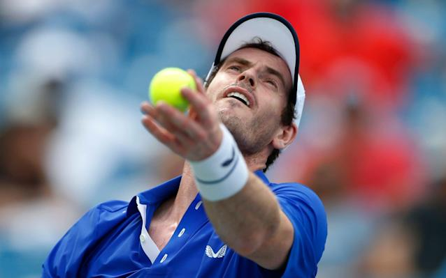 Andy Murray has announced his schedule in the coming weeks but it will not include a singles appearance at the US Open - FR171284 AP