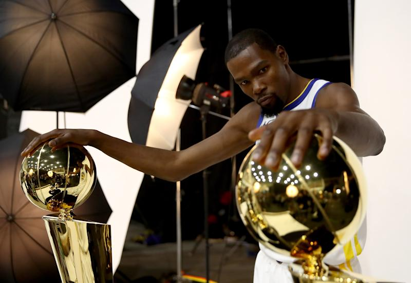 54d227fdc8c9 Kevin Durant complains about media s  pure hate for me