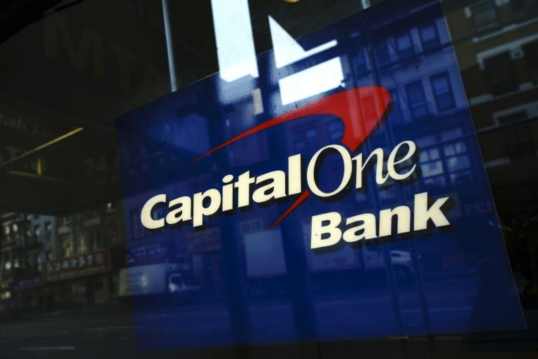 Capital One alerted authorities to a data breach that affected more than 100 million customers, resulting the arrest of a West Coast software developer (AFP Photo/Drew Angerer)