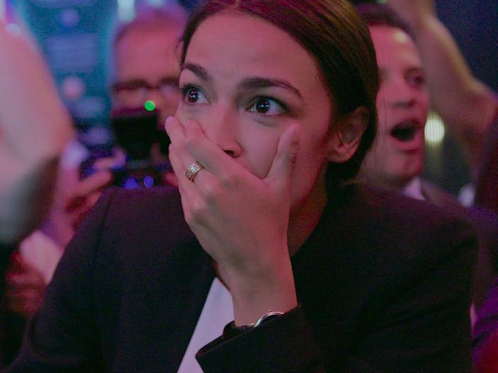 """Alexandria Ocasio-Cortez appears in """"Knock Down the House."""""""