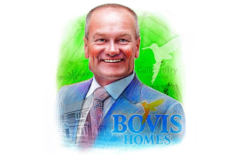 Greg Fitzgerald is the chief executive of Bovis Homes