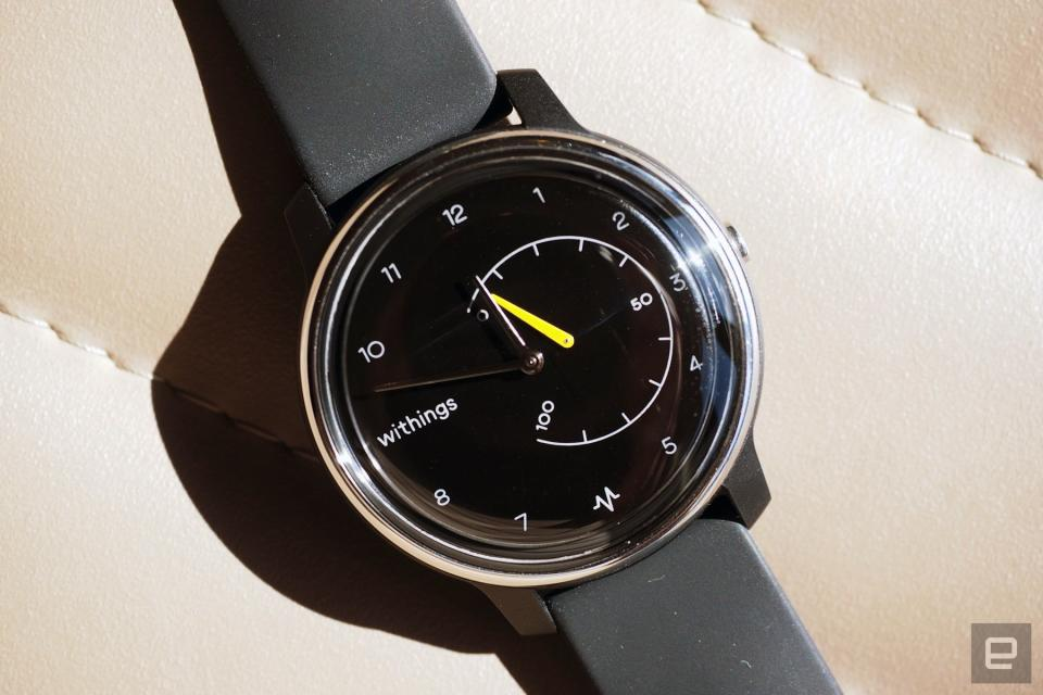 Withings Move fitness tracker.