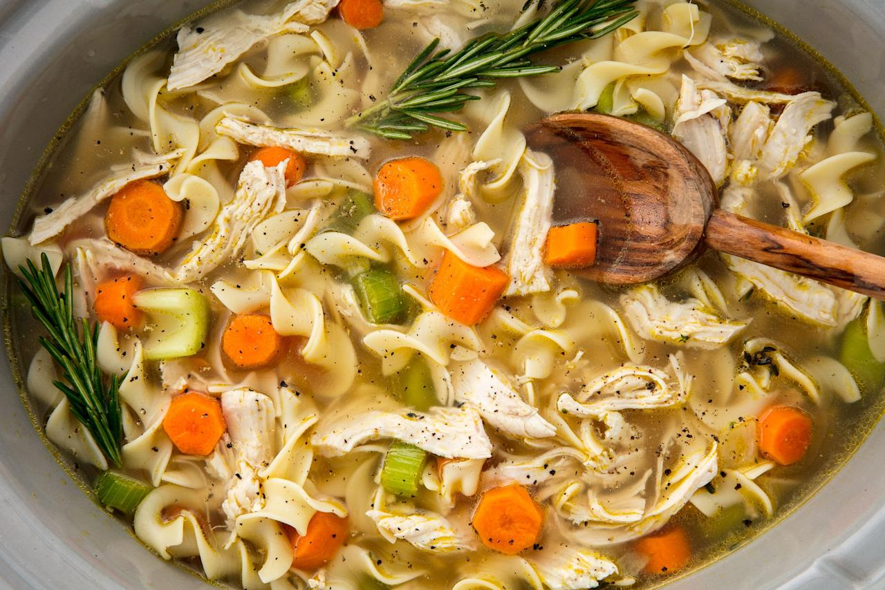 "<p>Eating healthy the hands-free way.</p><p>Looking for more ways to use your slow cooker? Try these <a rel=""nofollow"">crock pot chicken ideas</a> too good not to love.</p>"