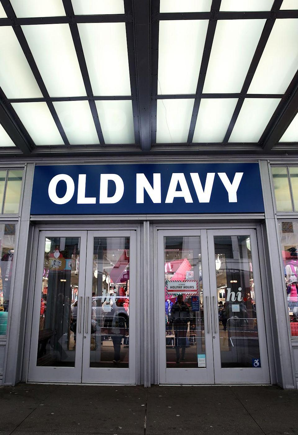 <p>This year, most <strong>Old Navy stores will open at 3 p.m.</strong> and stay open through Black Friday. </p>