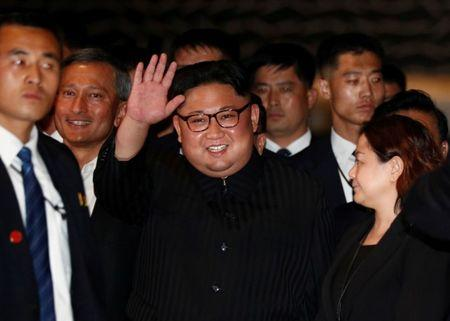 Kim Jong Un visits The Marina Bay Sands hotel in Singapore