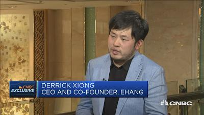Derrick Xiong, co-founder at EHang says in China the infrastructure to track aerial delivery drones is expanding.