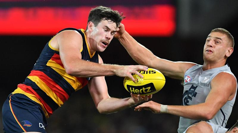 AFL CROWS BLUES