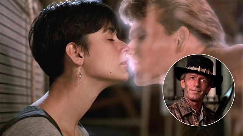 Paul Hogan turned down the Patrick Swayze role in 'Ghost' - Credit: Paramount
