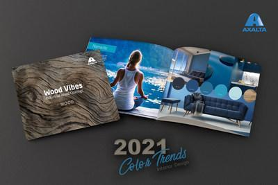Axalta connects color trends and emotions in the latest edition of its industrial wood coatings color campaign, Wood Vibes: Mood.