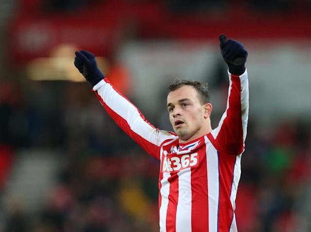 Liverpool considering Xherdan Shaqiri as winger eyes move away from Stoke
