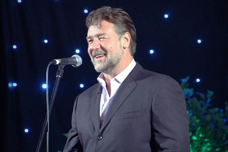 Breaking out: Russell Crowe wants to be judged on his music not his fame: PR HANDOUT