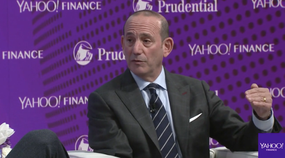 MLS Commissioner Don Garber at Yahoo Finance's All Markets Summit.