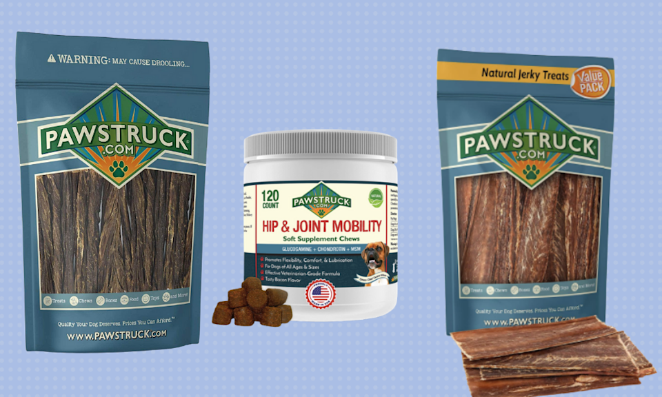 Save up to 45 percent off high-quality dog treats. (Photo: Amazon)