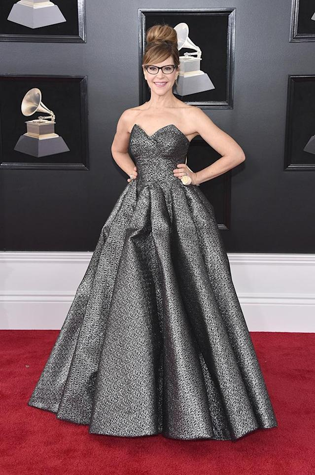 <p>Lisa Loeb attends the 60th Annual Grammy Awards at Madison Square Garden in New York on Jan. 28, 2018. (Photo: John Shearer/Getty Images) </p>