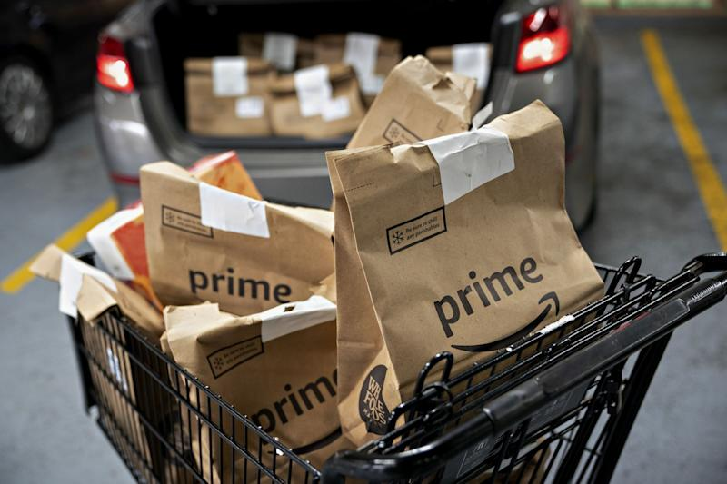 Amazon Looks to Use More Contractors for Grocery Delivery