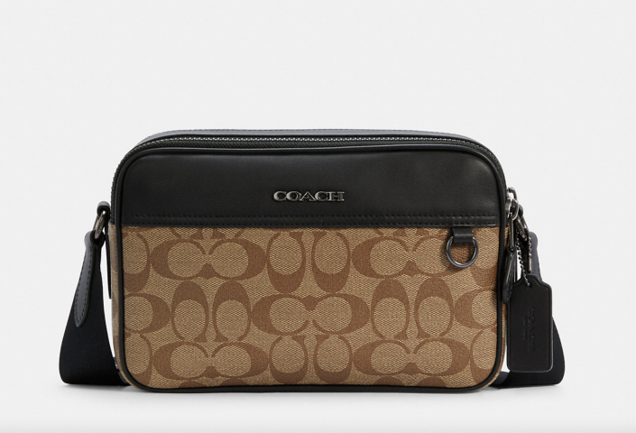 Graham Crossbody In Signature Canvas (Photo via Coach Outlet)