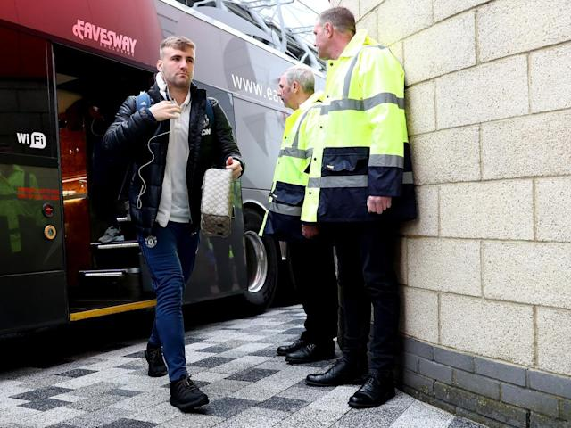 Shaw has been firmly out of favour under Mourinho (Getty)