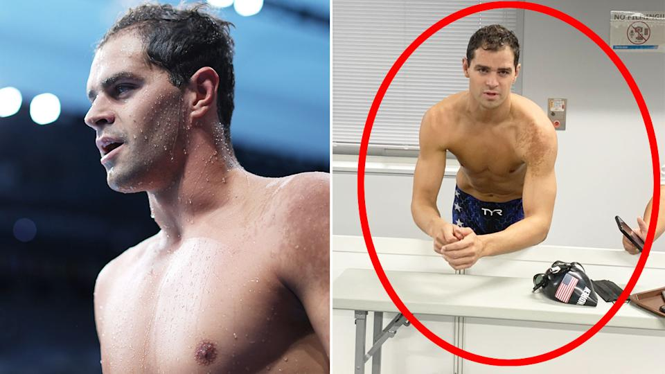 Olympics 2021: Maskless swimmer a national 'embarrassment'