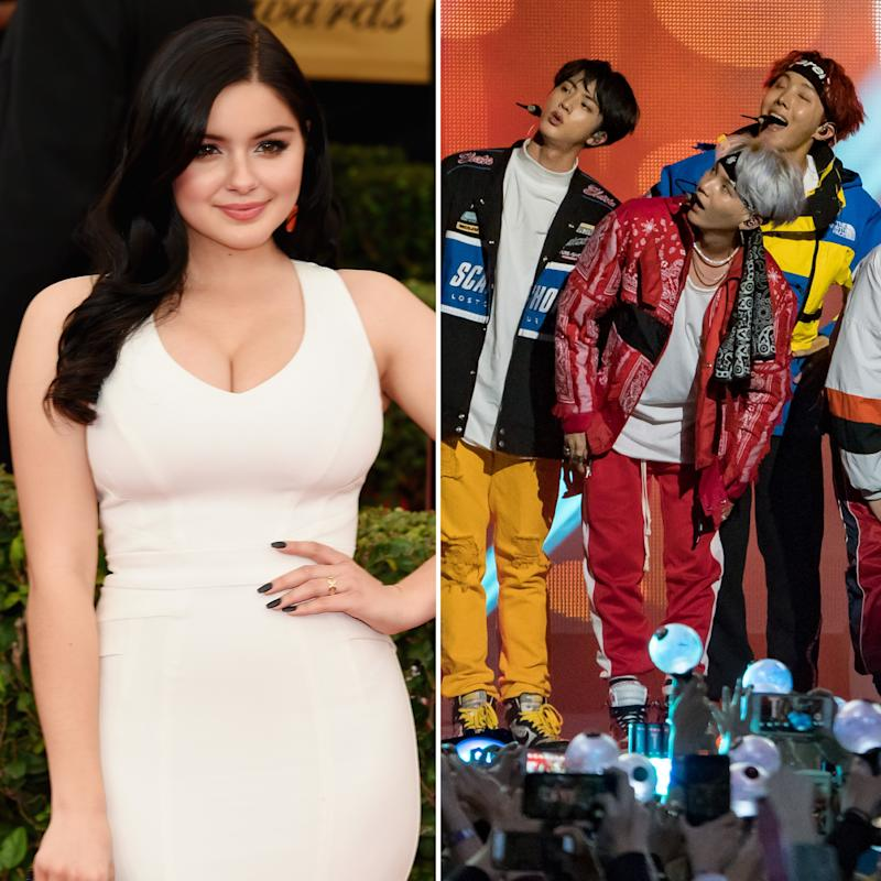 Ariel Winter Learned the Hard Way About Using the BTS Hashtag on Twitter