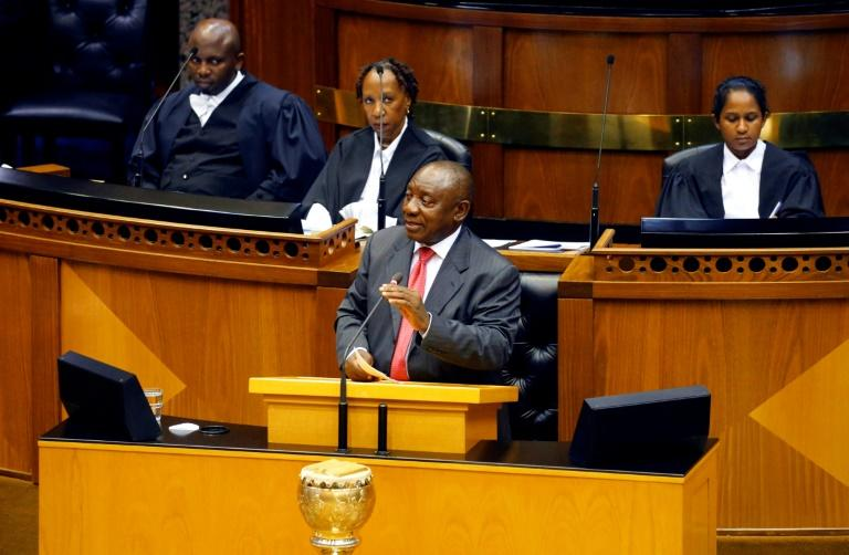 In his maiden speech, Ramaphosa vowed to crack down on corruption -- a reference to the graft-laden reputation of his predecessor, Jacob Zuma