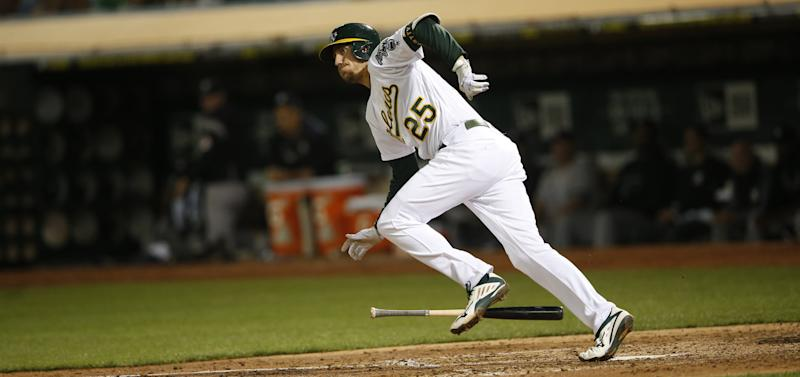 The Oakland Athletics are always open for business. (Michael Zagaris/Oakland Athletics/Getty Images)