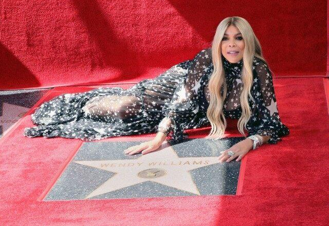 Wendy Williams at Hollywood Walk of Fame
