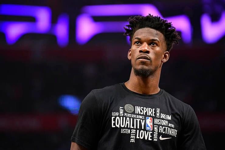 EMac gives his favorite NBA DFS picks for Yahoo + DraftKings + FanDuel daily fantasy basketball lineups including Jimmy Butler for Friday 2/5