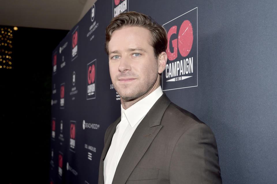 Armie Hammer breaks his silence about alleged explicit Instagram messages.