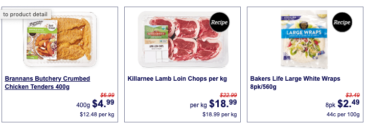 Chicken, lamb and flatbread on sale as Super Savers at Aldi.