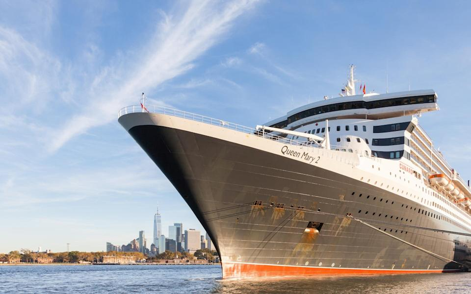Cunard's liners will look to make their transatlantic crossings once borders reopen - ATG IMAGES