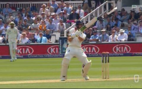 Malan hit by bouncer - Credit: Sky Sports