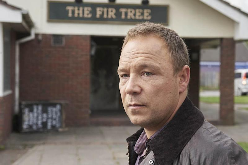 Harrowing: Stephen Graham plays Detective Superintendent Dave Kelly (ITV)
