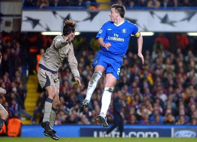 John Terry's header sealed victory over Barcelona (Sean Dempsey/PA)