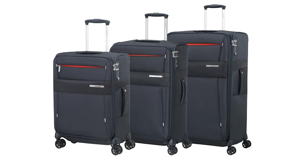 Samsonite Duopack 3 Piece Expandable Spinner Suitcase Set