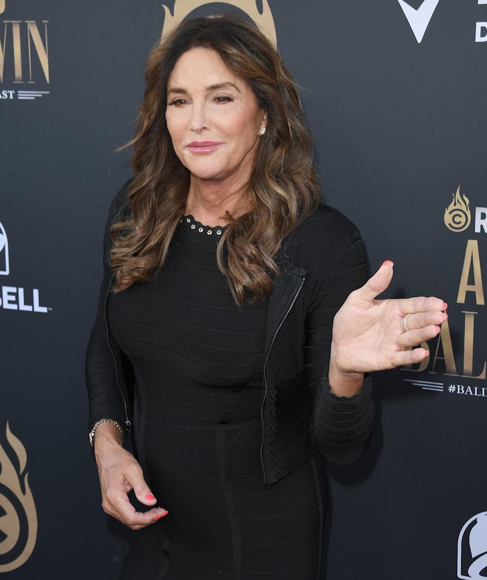Caitlyn Jenner arrives at the Comedy Central ROAST OF ALEC BALDWIN held at the Saban Theatre in Los Angeles, CA on Saturday, September 7, 2019. (Photo By Sthanlee B. Mirador/Sipa USA)