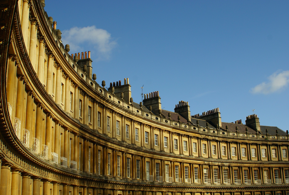 <p>It's no surprise to find beautiful Bath in the top 20 with its stunning architecture and Roman history. (Picture: Rex) </p>