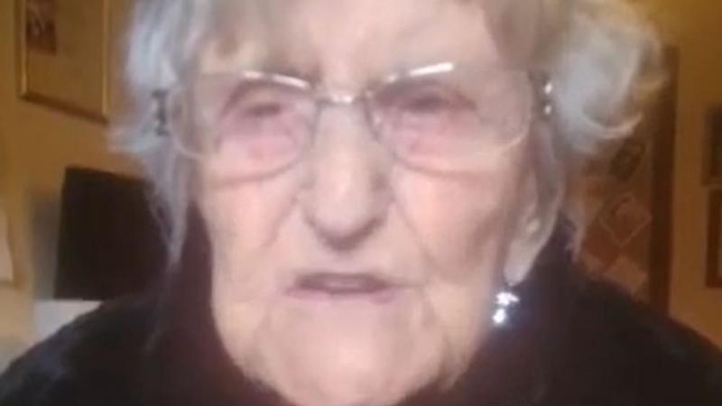 Care home resident, 104, urges end of 'prison-like' visiting restrictions