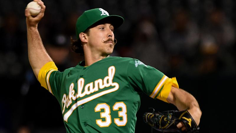 A's pitcher Daniel Mengden undergoes successful right elbow surgery
