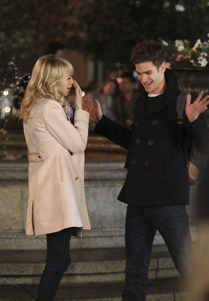 emma stone andrew garfield the amazing spiderman