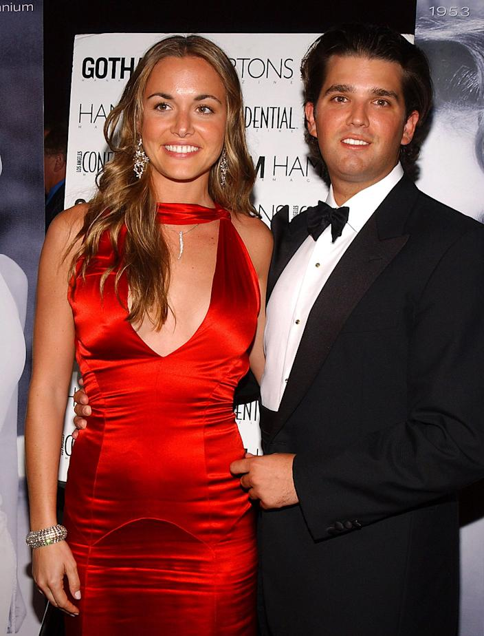 Vanessa Haydon and Donald Trump Jr. during The 53rd Annual Miss USA Competition - After Party - Arrivals at Avalon in Hollywood, California, United States.