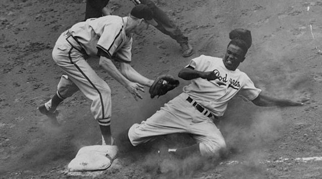 MLB players chimed in in remembrance of Jackie Robinson on Saturday, 70 years after he broke baseball's color barrier.