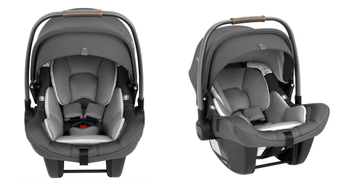 Safety first with this car seat.