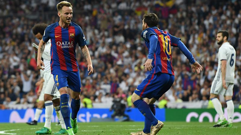 'Messi cannot surprise anyone' – Rakitic lauds Barcelona's Clasico hero