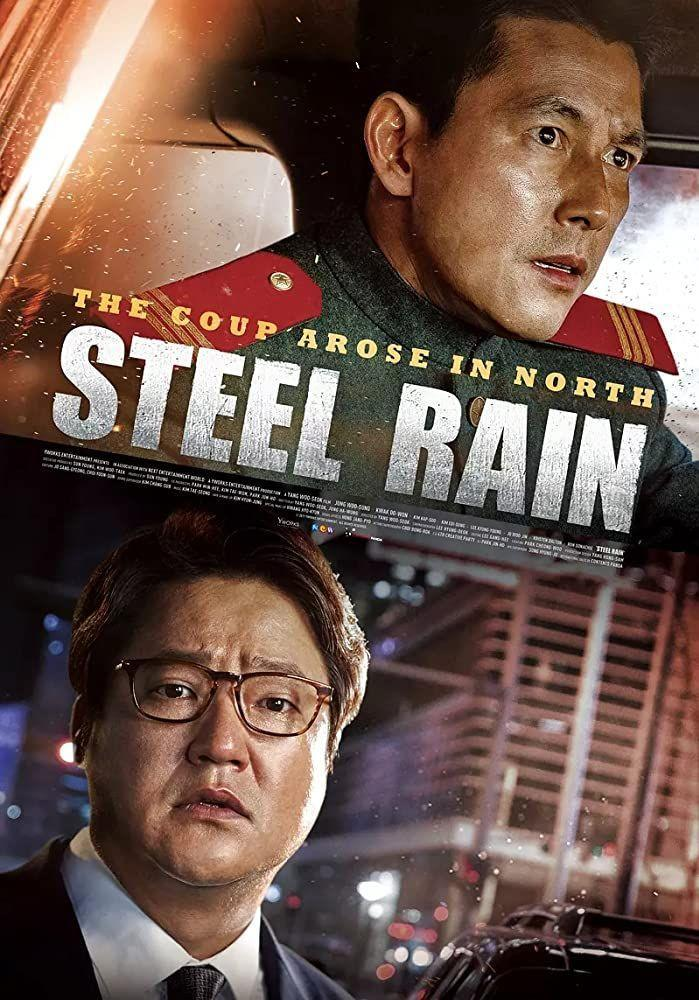 """<p><em>Steel Rain</em> is a jam-packed political action thriller telling the story of a North Korean agent and the country's Supreme Leader defecting to the South amid a coup. While being hunted by the North, the former agent works with South Korea to help prevent a disastrous nuclear war. </p><p><a class=""""link rapid-noclick-resp"""" href=""""https://www.netflix.com/title/80226234"""" rel=""""nofollow noopener"""" target=""""_blank"""" data-ylk=""""slk:Watch Now"""">Watch Now</a></p>"""