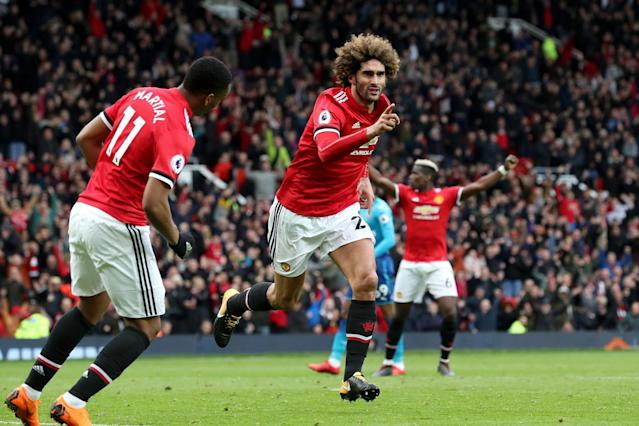 Arsenal set for Marouane Fellaini transfer talks as Manchester United close in on Fred