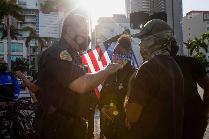 City of Miami Police Chief Art Acevedo, who has promised change and accountability, moved a step closer to firing the city's highest ranking husband and wife Wednesday after an internal affairs investigation determined they had ignored protocol after a vehicle crash.