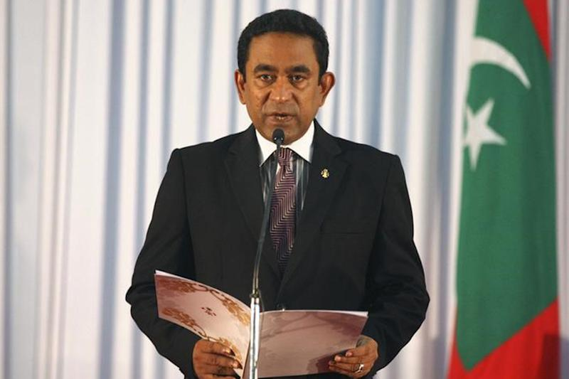 Outgoing Maldives President Blames Defeat on 'Disappearing Ink'